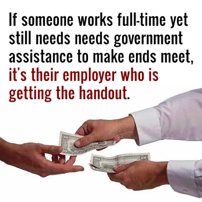 corporate hand outs